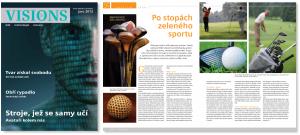 Visions 01/2012: Po stopách zeleného sportu