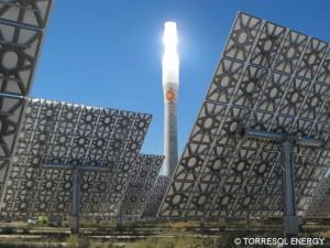 Elektrárna Gemasolar ve španělské Andalusii (© TORRESOL ENERGY)