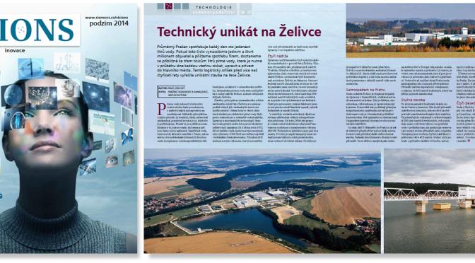 Visions 2014/3: Technický unikát na Želivce
