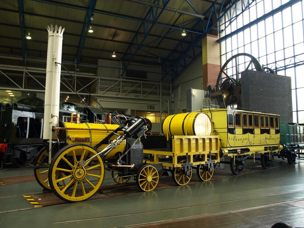 Stephensonova lokomotiva Rocket