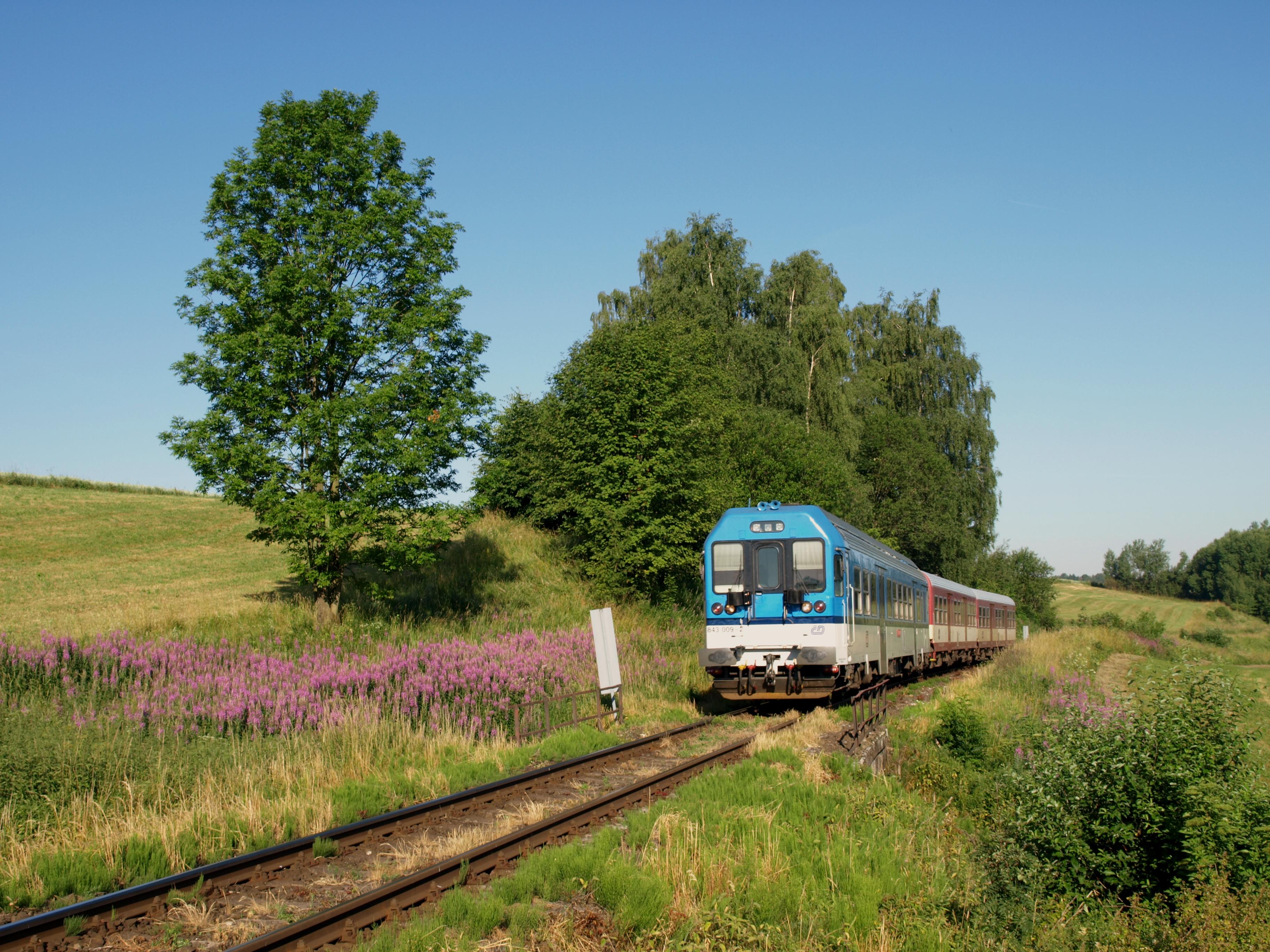 Vlak vás zklidní