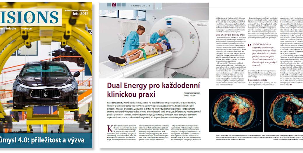 Dual Energy pro každodenní klinickou praxi