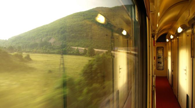 Vlak umí být hotelem