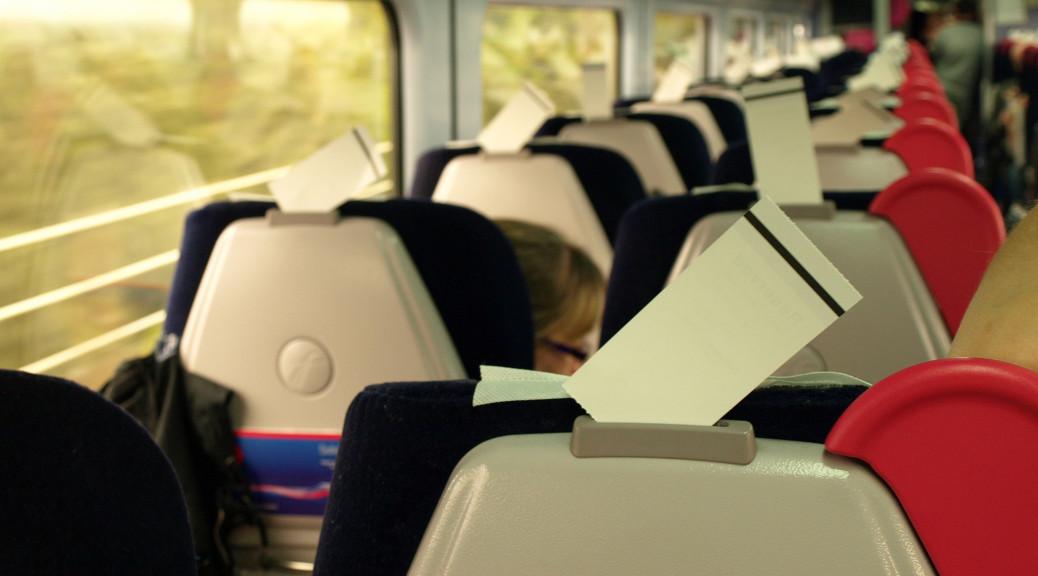 Vlak má nejpohodlnější sedadla