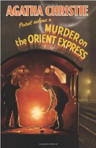 Přebal prvního vydání Vraždy v Orient Expresu.